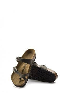 Birkenstock Koyu Vizon Kadın Sandalet Mayari 71061