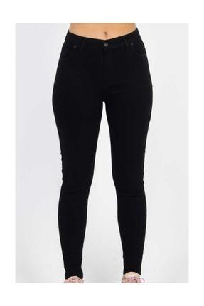 Asics Yüksek Bel Dar Paça Klasik Pantolon - Siyah Siyah 34