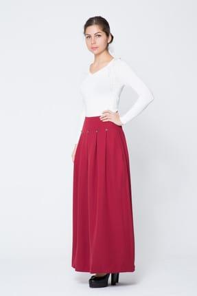 Gizia Kadın Kırmızı Uzun Etek M17KCZ0391E84