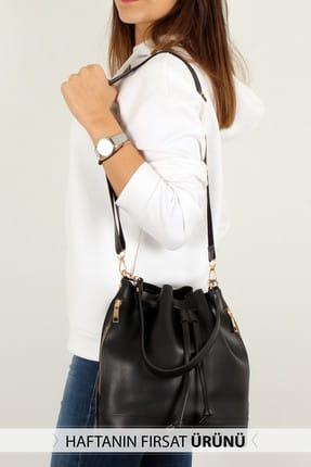Luwwe Bag's Siyah Kadın Omuz Çantası LWE20238-S