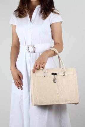 Luwwe Bag's Krem Kadın Kol Çantası LWE203041021