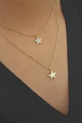 Allegro Gold 14 Ayar Altın Yıldız Kolye ALK0317