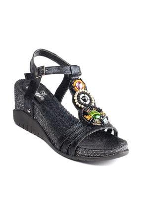 Guja Siyah Kadın Sandalet 19YGUZ275-2S