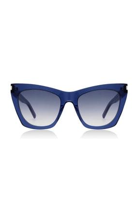 Yves Saint Laurent Kadın Güneş Gözlüğü  SL214 Kate Blue 002