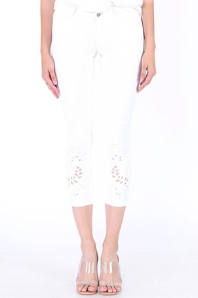 Twister Jeans Jeans Lıma 9292-02 Crop Desenli Paça - 19Sb01000053-B