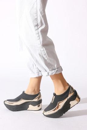 Rovigo Altın Kadın Sneaker 218204-01