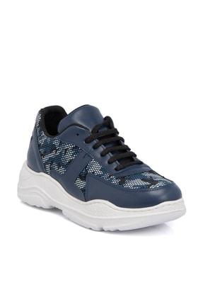 Tergan Mavi Kadın Ayakkabı-6,4381E+99