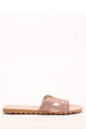 Ayakkabı Modası Pudra-Pudra Kadın Terlik M1003-19-122030R