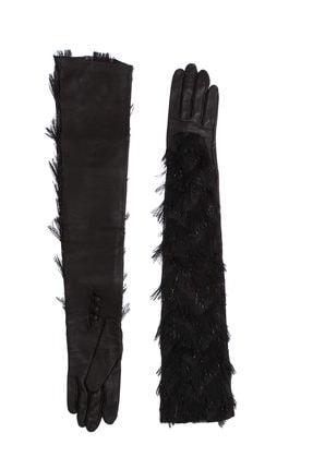 Lanvin Kadın Siyah Atkı Lnvawglad4Aorgzh14-Black