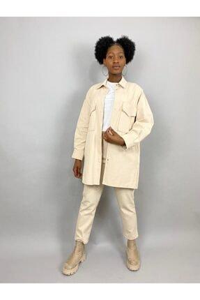 Loreen Kadın Bej Ceket