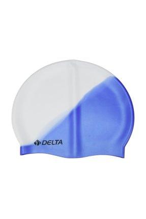 Delta Delta Silikon Bone 25 Adet Yüzücü Havuz Deniz Bonesi (Gökkuşağı)