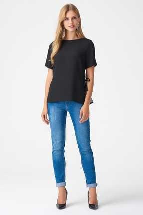 Naramaxx Kadın Siyah Bluz 18K111181139