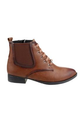 Ayakland 8284-2010 Günlük Termo Fermuarlı Kadın Cilt Bot Ayakkabı