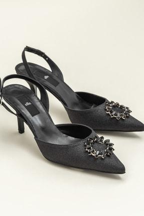 Elle NISHAA Siyah Kadın Ayakkabı