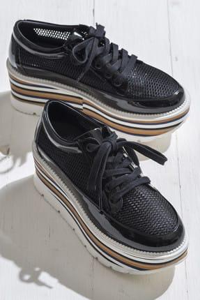 Elle BELL Siyah Kadın Ayakkabı
