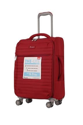 ITLUGGAGE Kırmızı Unisex Büyük Boy Valiz 1247589005540