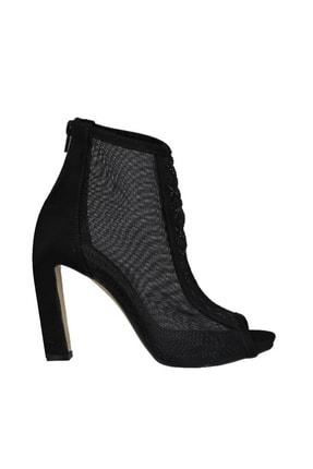Punto Siyah Suet Kadın Klasik Ayakkabı 19Y423B0054-80