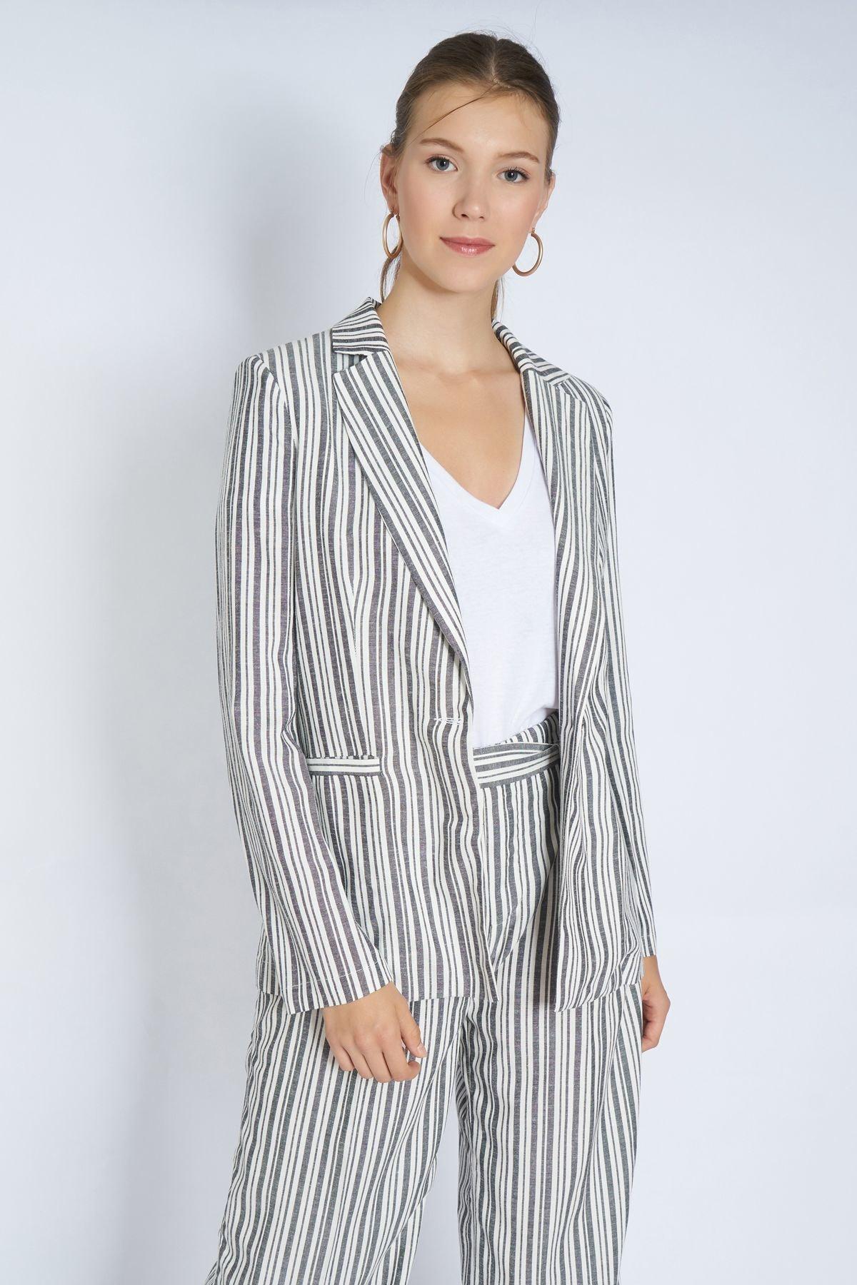 Home Store Kadın Gri Ceket 19101093332