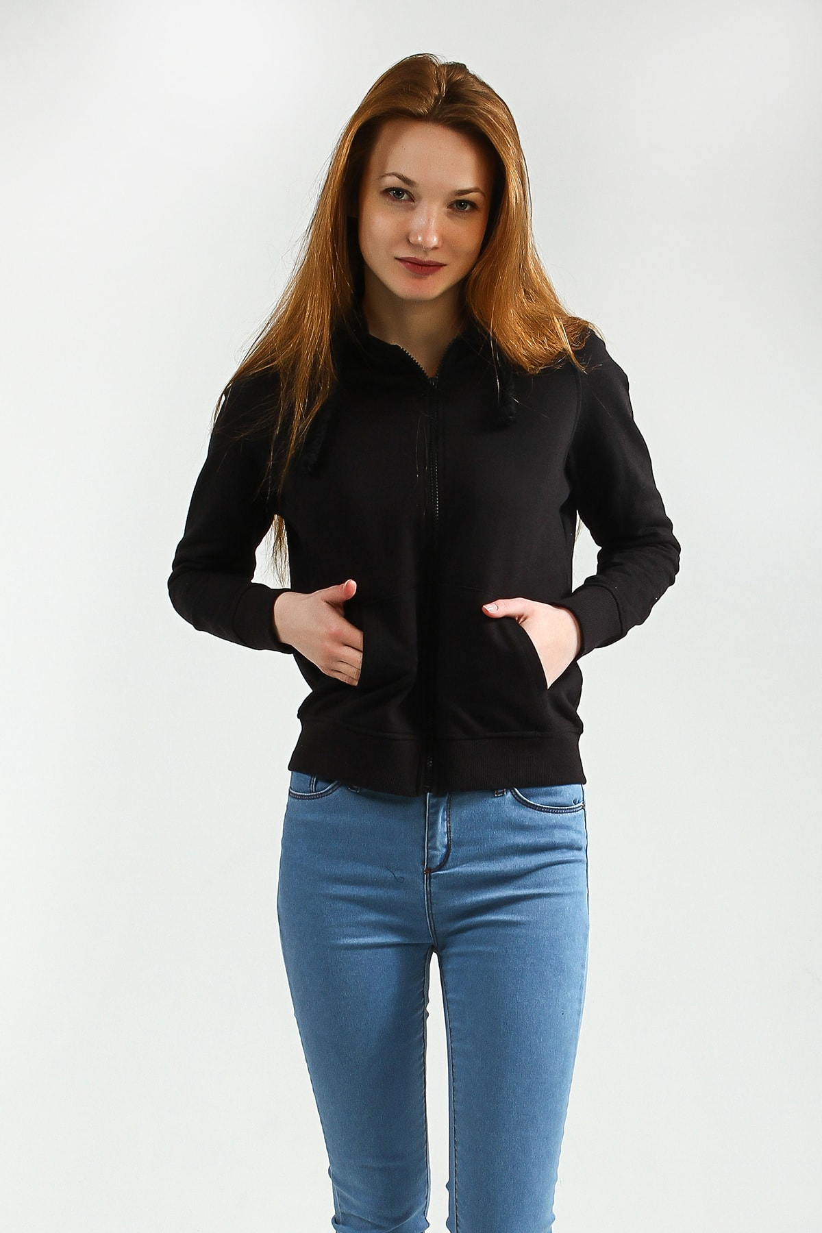 Collezione Kadın Siyah Regular Sweatshirt Yoga UCB150441A41