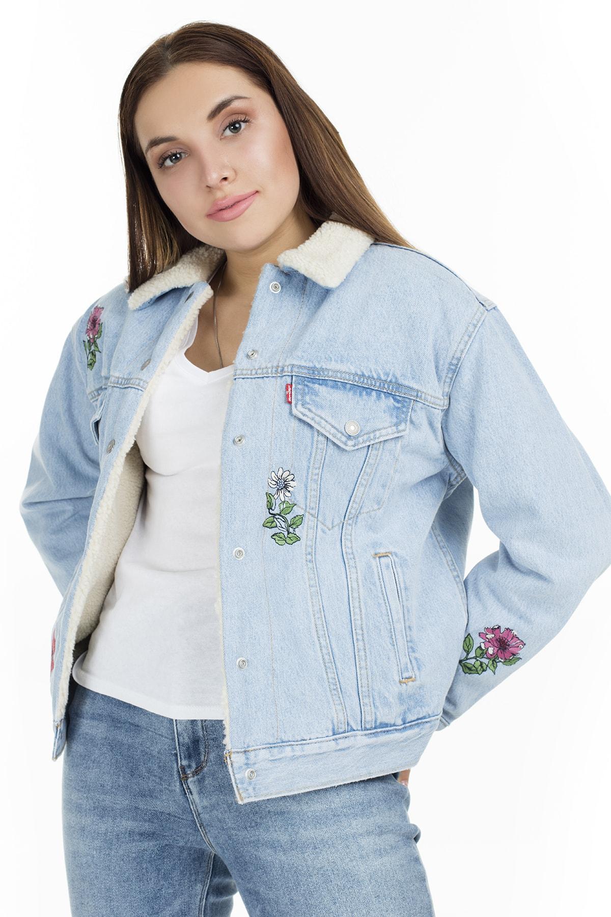 Levi's Kadın Jean Ceket 36137-0029