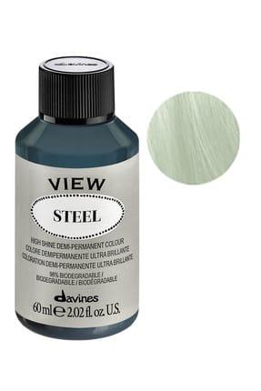 Davines View Yarı Kalıcı Saç Boyası 60 ml - Steel Çelik Rengi 8004608262145 (Oksidansız)