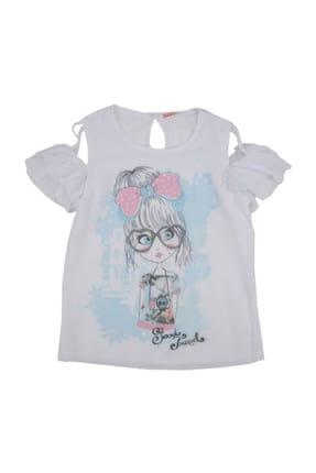Zeyland Beyaz Unisex Çocuk T-Shirt