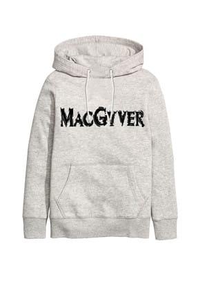 Art T-shirt MACGYVER UNISEX KAPÜŞONLU SWEATSHIRT - ARTRND02446M