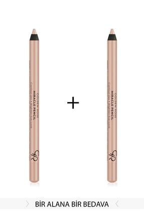 Golden Rose 2'li Set Göz&Dudak Aydınlatıcı Kalem - Miracle Pencil Contour Lips Brighten Eye-Look KMIR