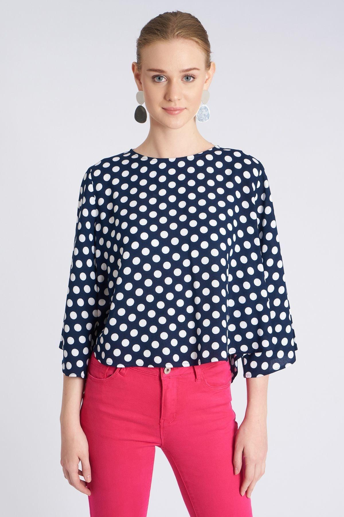 Home Store Kadın Lacivert Bluz 19230007184