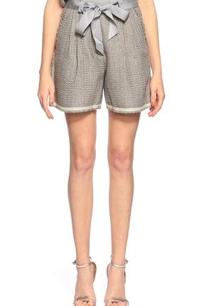Lanvin Kadın Kahverengi Pantolon Lnvw050162197P8A-Off-Whıte