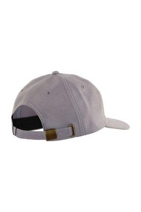 Asics Ayarlanabilir Şapka Gri Logo Cap  A17002-9890