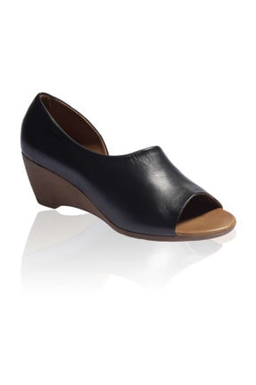 Bueno Shoes Siyah Bayan Ayakkabı 9j2410