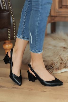Pembe Potin Siyah Kadın Casual Ayakkabı A1222-20