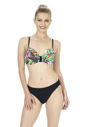 ESTİVA Kadın Siyah alenli Bikini