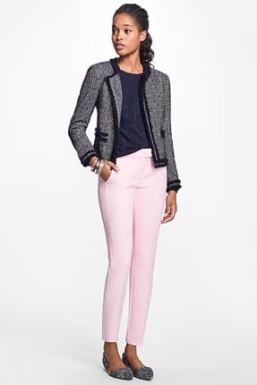 Brooks Brothers Kadın Pembe Pantolon