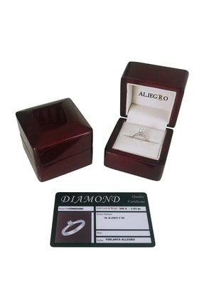 Allegro Gold Pırlanta Allegro 0,35 Karat F Color Pırlanta Tek Taş Kolye AP00054