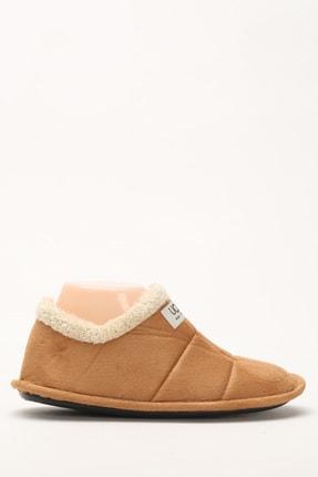 Ayakkabı Modası Camel Kadın Panduf 4000-19-126006