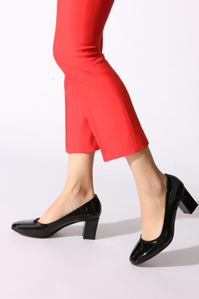 Rovigo Siyah Kadın Klasik Topuklu Ayakkabı 546900-08
