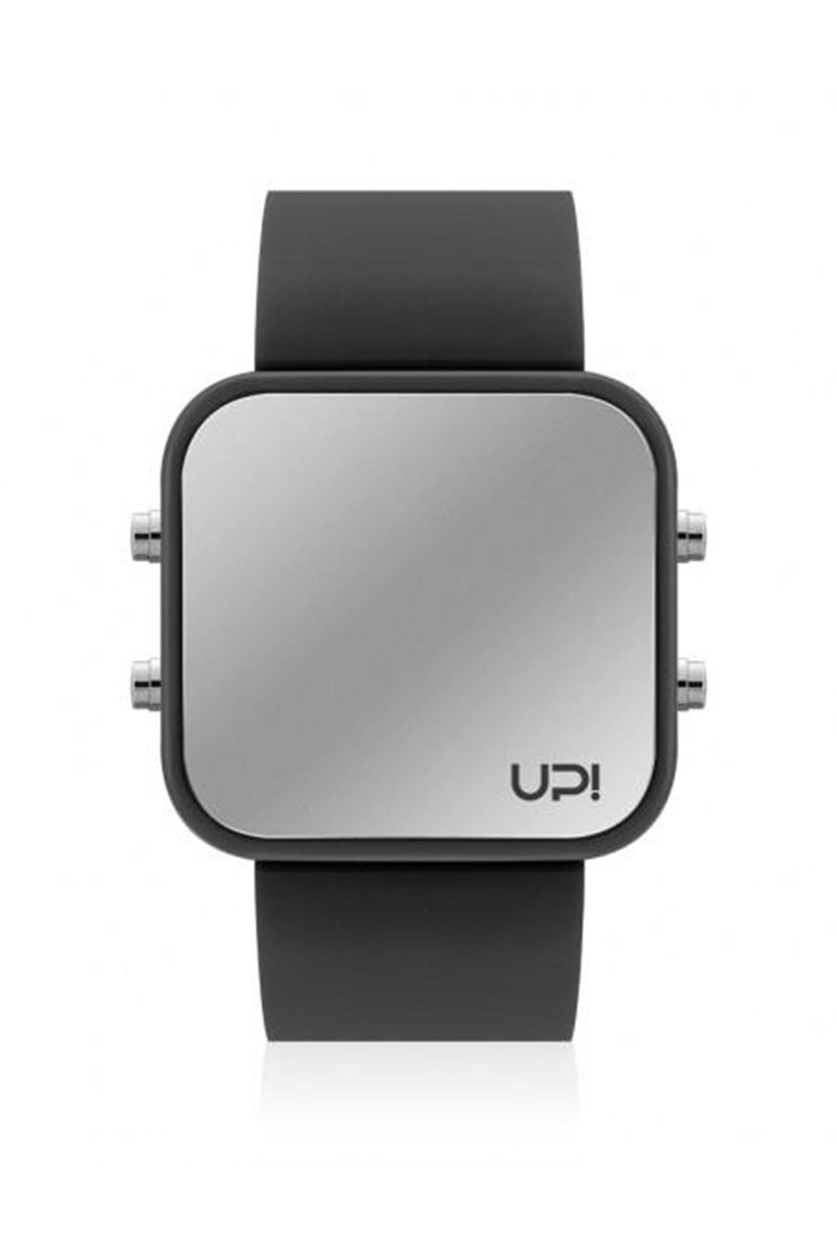 UpWatch Unisex Kol Saati LED BLACK