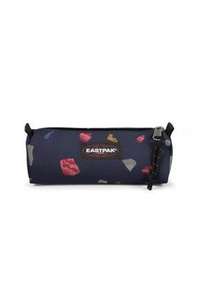 Eastpak Benchmark Single Kalem Çantası Vfe-ek37244v Lacivert Desenli