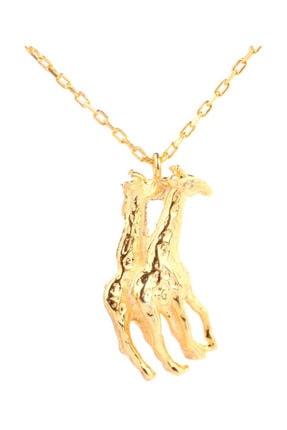 Nusret Takı 925 Ayar Gümüş Aşk-ı Zürafa Kolye