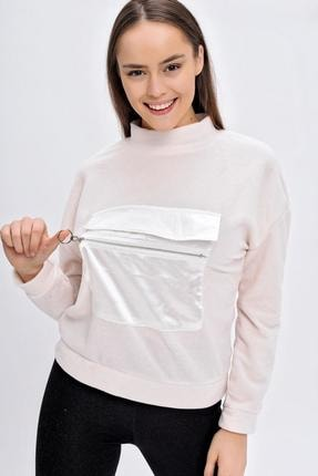 Deppoist Kangru Cep Polar Sweatshirt