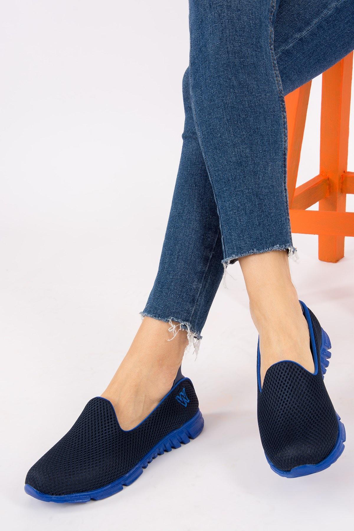 Fox Lacivert/saks Mavi Kadın Ayakkabı H350886904