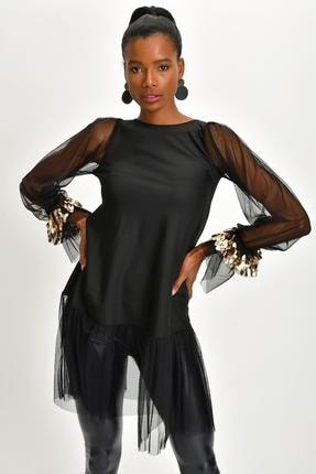 Quincey Scuba Tunik Elbise