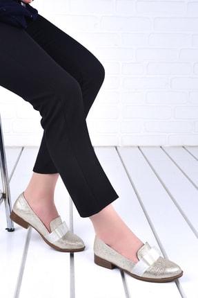 Ayakland Kadın  Günlük Bayan Cilt Babet Ayakkabı 8284-2030
