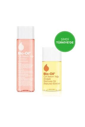 Bio Oil Cilt Bakım Yağı 125 Ml Çatlak Karşıtı & Nemlendirici + Natural Cilt Bakım Yağı 60 Ml