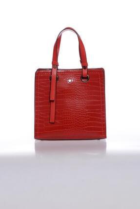 Sergio Giorgianni Luxury Mpysmn9145 Kroko Kırmızı Kadın Omuz Çantası