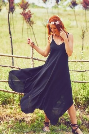 Los Banditos Kadın Ip Askılı Elbise