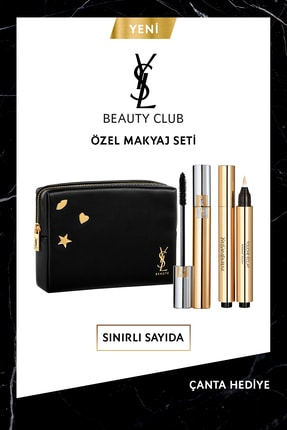 Yves Saint Laurent Mascara Volume Effet Faux Cils Maskara Seti 8690595147697