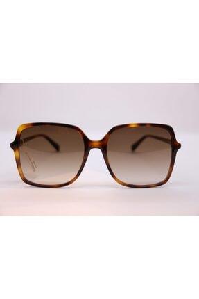 Gucci Kadın Kahverengi Güneş Gözlüğü Gg0544s 002 57 00
